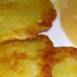Recept Reibekuchen of Kartoffelpuffer