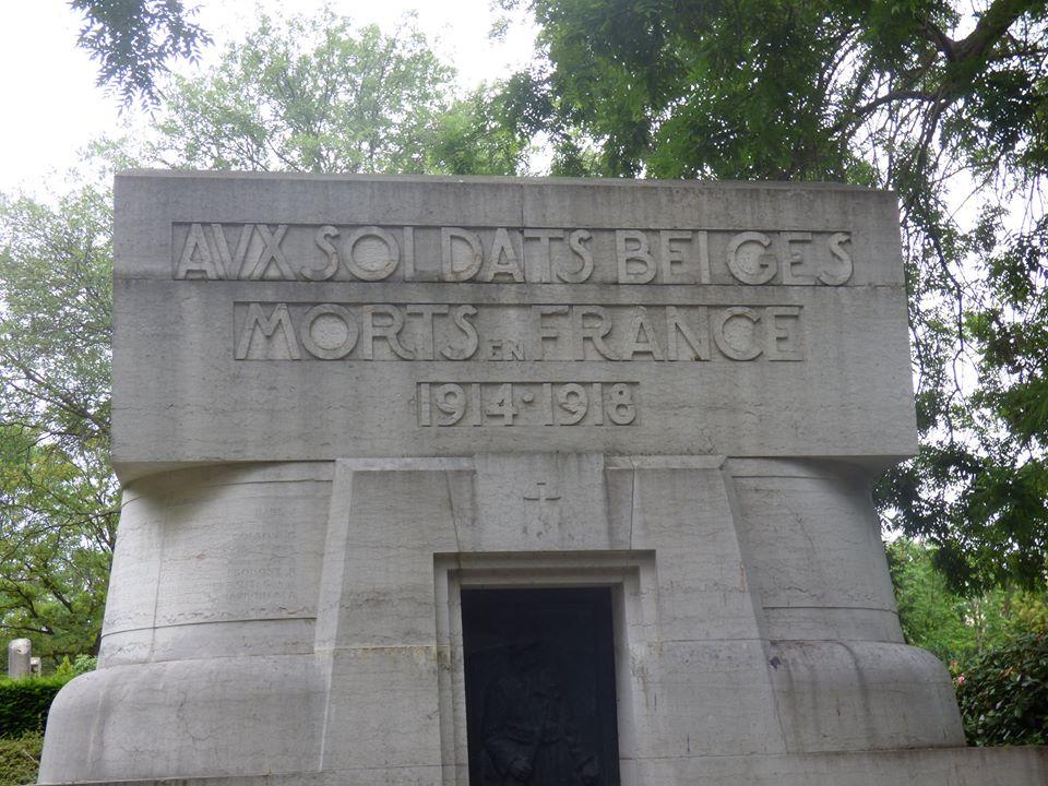 Avx Soldates Belges Morts en France