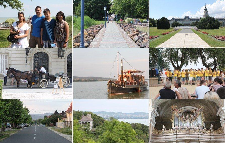 Een fotoimpressie van Kesthely - Hongarije