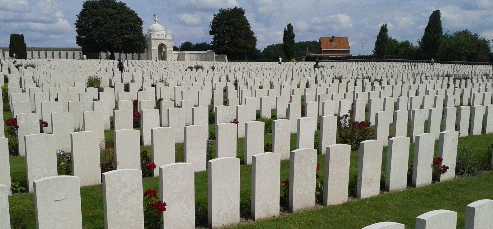 begraafplaats ieper